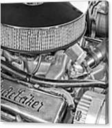 1953 Studebaker Champion Starliner Engine Canvas Print
