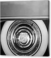 1954 Cadillac Coupe Deville Wheel Emblem Canvas Print