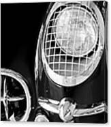 1954 Chevrolet Corvette Head Light Canvas Print