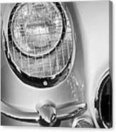 1954 Chevrolet Corvette Headlight Canvas Print