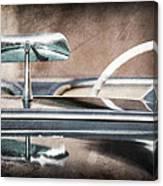 1954 Chevrolet Corvette Rearview Mirror Canvas Print