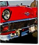 1955 Chevy Bel Air Front End Canvas Print