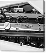 1955 Jaguar Engine Canvas Print