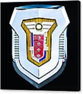 1955 Mercury Montclair Convertible Emblem Canvas Print