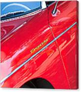 1955 Porsche 356 Speedster Canvas Print