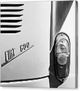 1956 Fiat 600 Taillight Emblem Canvas Print