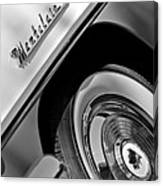 1956 Mercury Montclair Wheel Emblem Canvas Print