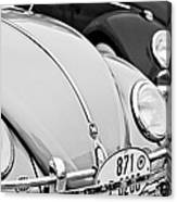 1956 Volkswagen Vw Bug Canvas Print