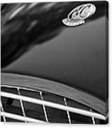 1957 Ac Ace Bristol Roadster Hood Emblem Canvas Print