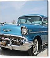 1957 Chevy Bel-air Canvas Print