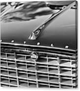 1957 Chrysler 300c Grille Emblem Canvas Print