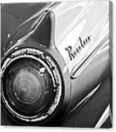 1957 Ford Ranchero Pickup Truck Taillight Canvas Print