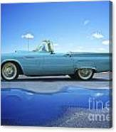 1957 Ford Thunderbird Convertible Canvas Print