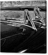 1957 Lincoln Capri Hood Ornament Canvas Print