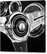 1958 Maserati Steering Wheel Emblem Canvas Print
