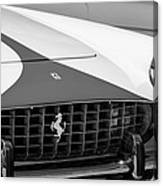 1959 Ferrari 250 Gt Coupe Grille Emblems Canvas Print