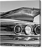 1960 Chevrolet Impala Resto Rod Taillight Canvas Print