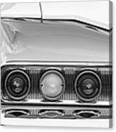 1960 Chevrolet Impala Tail Lights Canvas Print