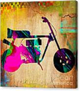1960's Mini Bike Canvas Print