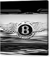 1961 Bentley S2 Continental - Flying Spur - Emblem Canvas Print