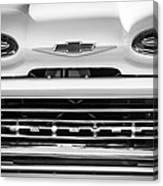 1961 Chevrolet Grille Emblem Canvas Print