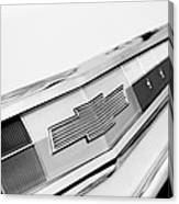 1962 Chevrolet Belair Emblem Canvas Print