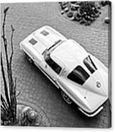 1963 Chevrolet Corvette Split Window -440bw Canvas Print