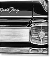1963 Plymouth Sport Fury Taillight Emblem Canvas Print