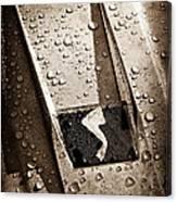 1963 Studebaker Avanti Hood Ornament Canvas Print