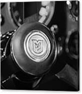 1964 Aston Martin Steering Wheel Emblem Canvas Print