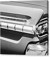 1964 Mercury Comet Taillight Emblem Canvas Print