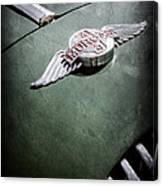1964 Morgan 44 Hood Emblem Canvas Print