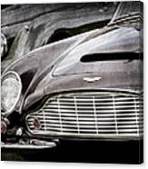 1965 Aston Martin Db6 Short Chassis Volante Grille Canvas Print