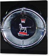 1965 Sunbeam Tiger Grille Emblem Canvas Print