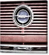 1966 Plymouth Barracuda - Cuda - Emblem Canvas Print
