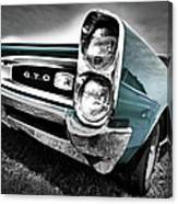 1966 Pontiac Gto Canvas Print