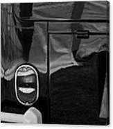 1966 Volkswagen 21-window Microbus Taillight Emblem Canvas Print