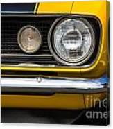 1967 Camaro Headlight Canvas Print