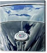1967 Chevrolet Corvette Rear Emblem Canvas Print