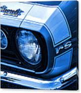 1967 Chevy Camaro Rs Canvas Print