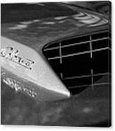 1967 Ford Mustang Cobra Jet Hood Emblem Canvas Print