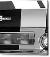 1967 Shelby Gt500 Fastback Taillight Emblem Canvas Print