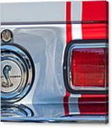 1968 Ford Mustang Fastback 427 Ci - Cobra Emblem Canvas Print