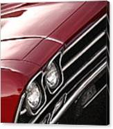 1969 Chevrolet Chevelle Ss 396 Canvas Print