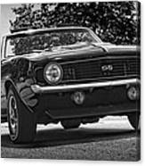 1969 Chevy Camaro Ss Canvas Print