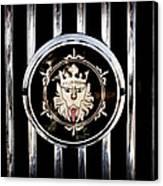 1969 Morgan Roadster Grille Emblem Canvas Print