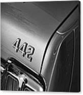 1970 Oldsmobile 442 W-30 Canvas Print