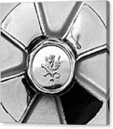 1971 Iso Fidia Wheel Emblem Canvas Print