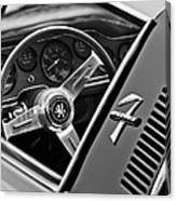 1971 Iso Grifo Can Am Steering Wheel Emblem Canvas Print