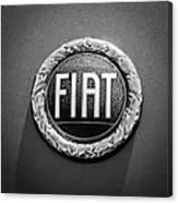 1972 Fiat Dino Spider Emblem Canvas Print